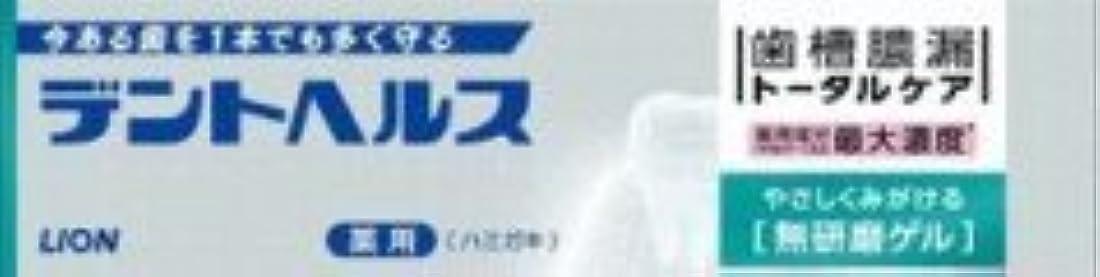 ビルダー雪だるまを作る鉄道駅【ライオン】 デントヘルス薬用ハミガキ 無研磨ゲル 28g×3