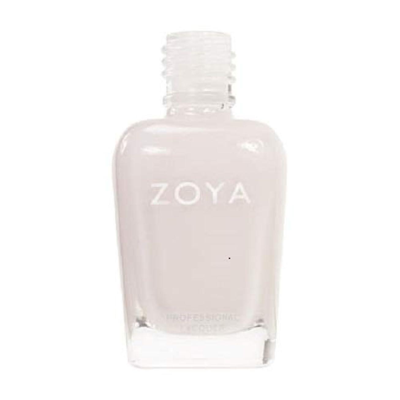 迫害する増強する箱ZOYA ネイルカラーZP235 SABRINA サブリナ 15ml ほのかに色づくピンクをまとったホワイト シアー/クリーム 爪にやさしいネイルラッカーマニキュア