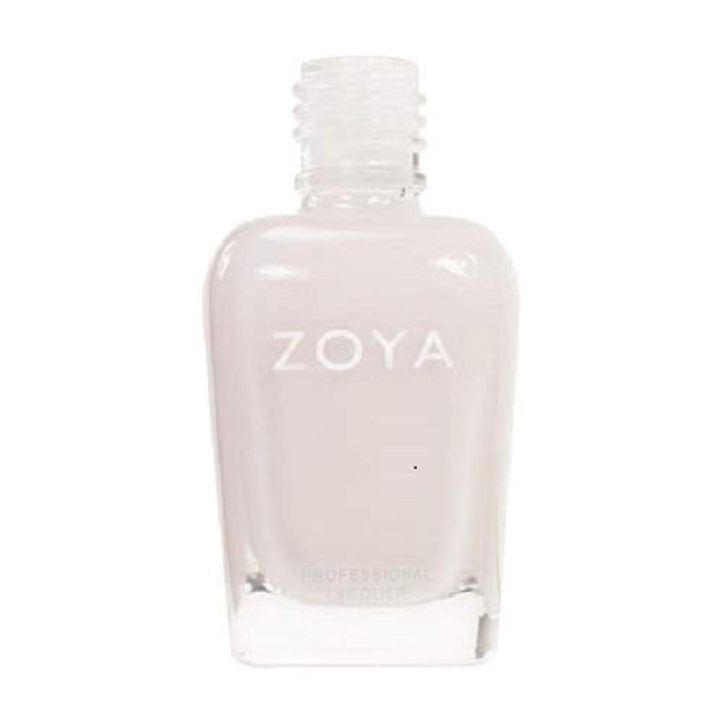 不可能な定常征服ZOYA ネイルカラーZP235 SABRINA サブリナ 15ml ほのかに色づくピンクをまとったホワイト シアー/クリーム 爪にやさしいネイルラッカーマニキュア