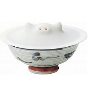コブタの落としぶた熱が均等にまわるから煮物が美味しいDrop lid in the form of piglets