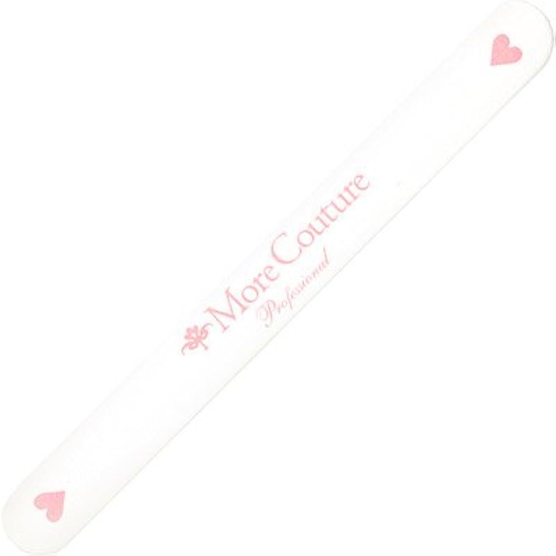 邪魔するマート出発するMore Couture(モアクチュール)エメリーボード ハート#120/240