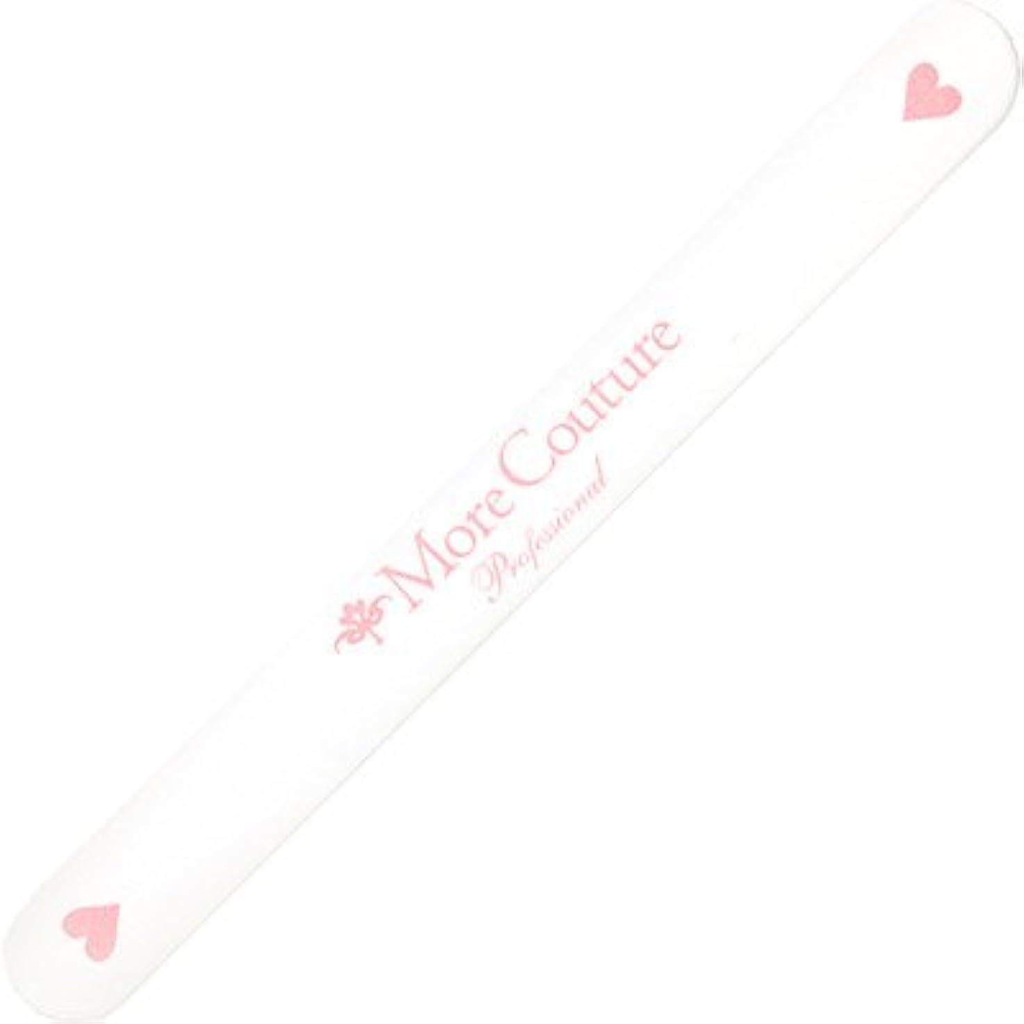 上がるプログラム幻滅するMore Couture(モアクチュール)エメリーボード ハート#120/240