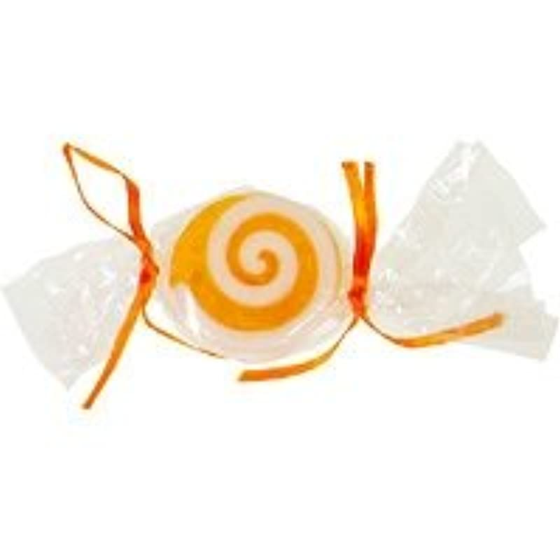 シリーズガラス側ベジタブルソープ キャンディ「オレンジ」20個セット オレンジの香り