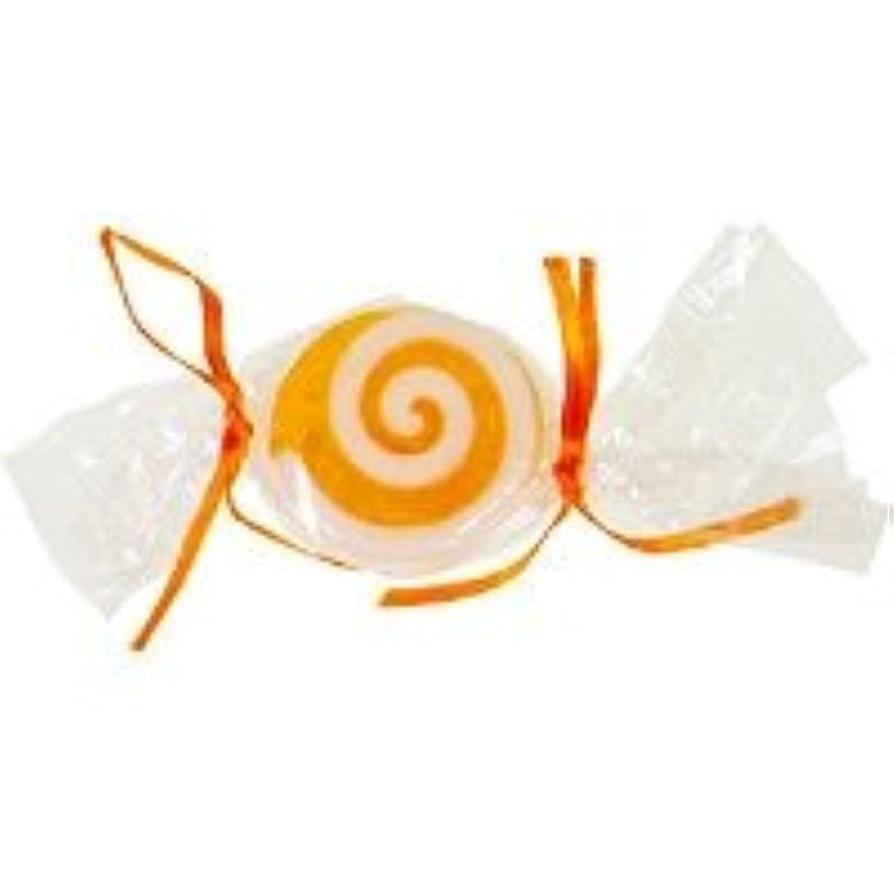 真珠のような囲いうめき声ベジタブルソープ キャンディ「オレンジ」20個セット オレンジの香り