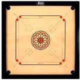 Surco Speedway Carrom Board with Coins and Striker, 4mm Full Size by Sucro [並行輸入品]
