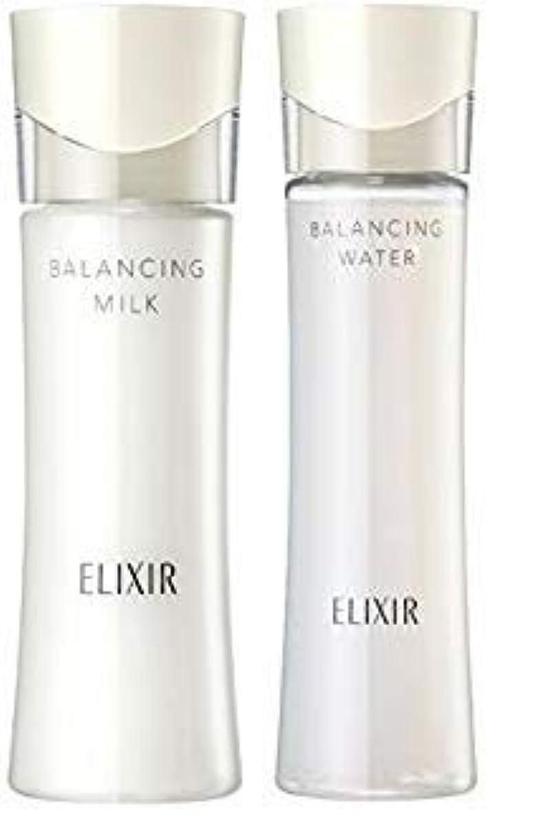 超えて生む災害エリクシール ルフレ バランシング ウォーター 化粧水1 168mL+ 乳液130mL (さらさらタイプ) セット