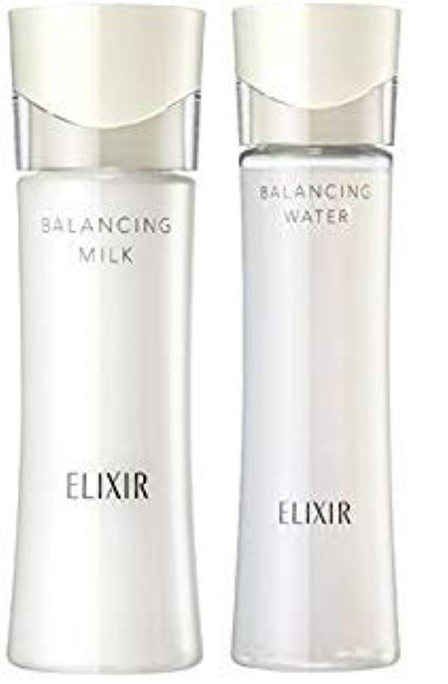 かき混ぜるみぞれ感性エリクシール ルフレ バランシング ウォーター 化粧水1 168mL+ 乳液130mL (さらさらタイプ) セット