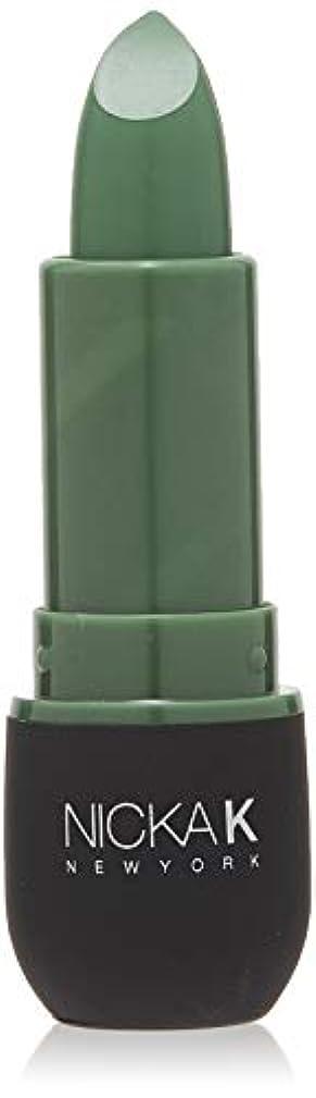 寮葉巻かろうじてNICKA K Vivid Matte Lipstick NMS11 Sea Green (並行輸入品)