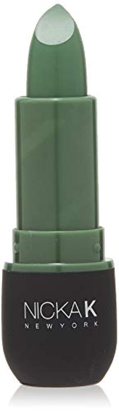 トリム微弱アリNICKA K Vivid Matte Lipstick NMS11 Sea Green (並行輸入品)