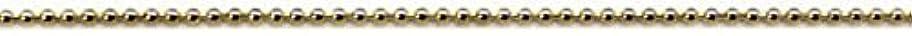 凍る梨構成するプリティーネイル ネイルアートパーツ ブリオンチェーン1.2mm ゴールド 1m 1個 CH-BC G