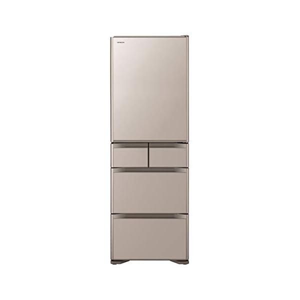 日立 冷蔵庫 501L 5ドア クリスタルシャン...の商品画像