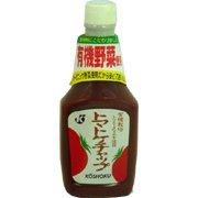 恒食 トマトケチャップ(有機野菜使用) 500g ×6セット