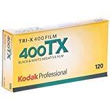 kodak 115 3659 Tri-X 400 プロフェッショナル 120 白黒フィルム 5ロール プロパック 2 Pack