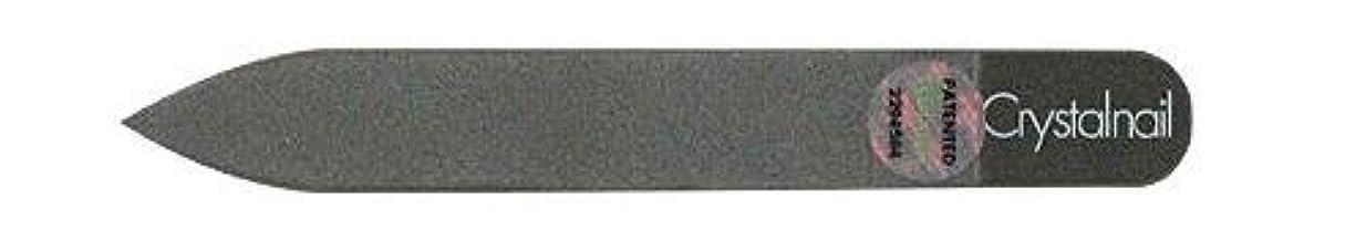 鼻証明アロングCrystal nail grass nail file (クリスタルネイル ガラスネイルファイル) 9cmーtype(クリスタルネイルミニ付き)