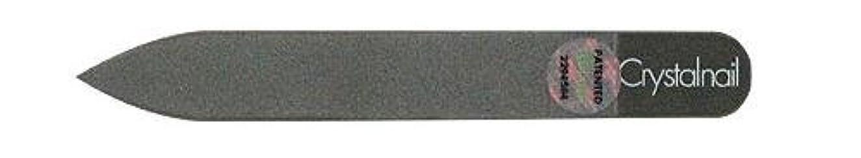 幽霊同等の交流するCrystal nail grass nail file (クリスタルネイル ガラスネイルファイル) 9cmーtype(クリスタルネイルミニ付き)