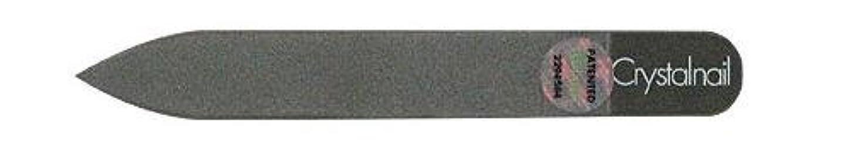 遺棄された戻る喜びCrystal nail grass nail file (クリスタルネイル ガラスネイルファイル) 9cmーtype(クリスタルネイルミニ付き)