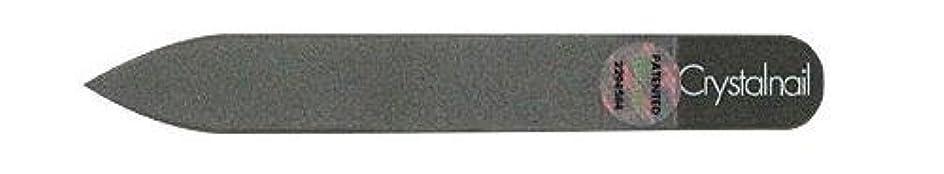 気味の悪いファーム合金Crystal nail grass nail file (クリスタルネイル ガラスネイルファイル) 9cmーtype(クリスタルネイルミニ付き)