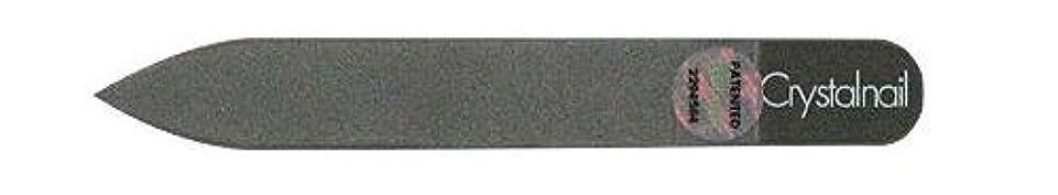 報復大腿振りかけるCrystal nail grass nail file (クリスタルネイル ガラスネイルファイル) 9cmーtype(クリスタルネイルミニ付き)
