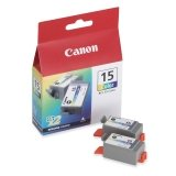 Canon BCI-15 - ink tank - yellow, cyan, magenta (8191A003) - by Canon [並行輸入品]