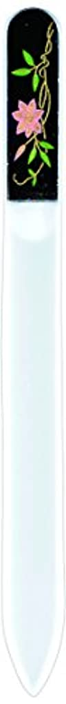 ふつうトランスミッション懐疑論橋本漆芸 ブラジェク製高級爪ヤスリ 六月 鉄仙 紙箱