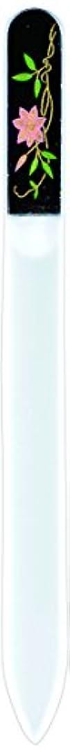 ではごきげんよう政治的思いやりのある橋本漆芸 ブラジェク製高級爪ヤスリ 六月 鉄仙 紙箱