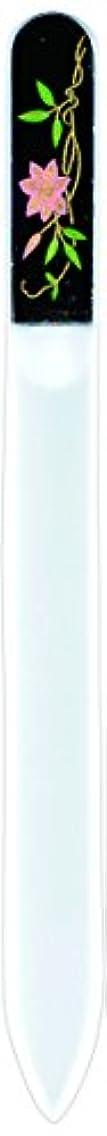 ウィザード微弱無心橋本漆芸 ブラジェク製高級爪ヤスリ 六月 鉄仙 紙箱