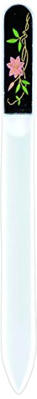 絶対に。ポット橋本漆芸 ブラジェク製高級爪ヤスリ 六月 鉄仙 紙箱