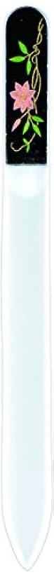 警察署インキュバスボトル橋本漆芸 ブラジェク製高級爪ヤスリ 六月 鉄仙 紙箱