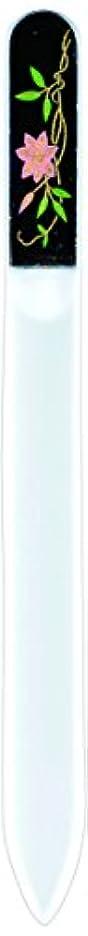 六分儀小学生拘束する橋本漆芸 ブラジェク製高級爪ヤスリ 六月 鉄仙 紙箱