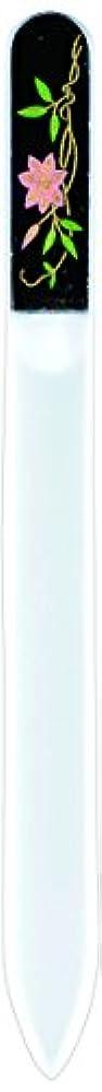 無知余計な証明橋本漆芸 ブラジェク製高級爪ヤスリ 六月 鉄仙 紙箱
