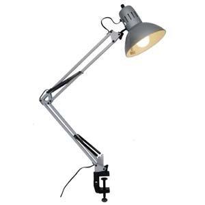 RoomClip商品情報 - ヤザワ アームライトシルバーEFA60W形電球色1灯 CFEA60EL28SV