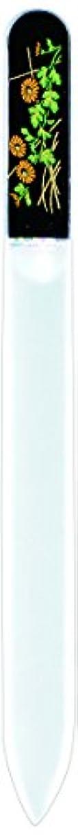 慰めインゲン過敏な橋本漆芸 ブラジェク製高級爪ヤスリ 十月 菊 紙箱