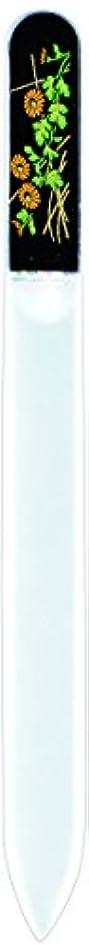 オフセットシェルターコイン橋本漆芸 ブラジェク製高級爪ヤスリ 十月 菊 紙箱