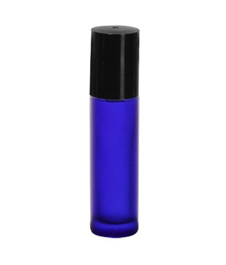 アソシエイト木製課税フロストコバルトガラスボトル・ロールオン[10ml]/1個
