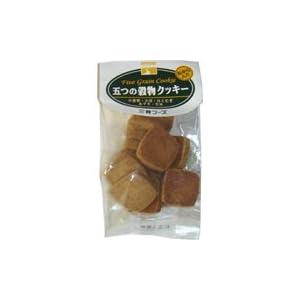 三育フーズ 五つの穀物クッキー 60g