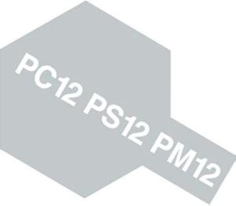 タミヤカラー PC-12 シルバー ポリカーボネート用