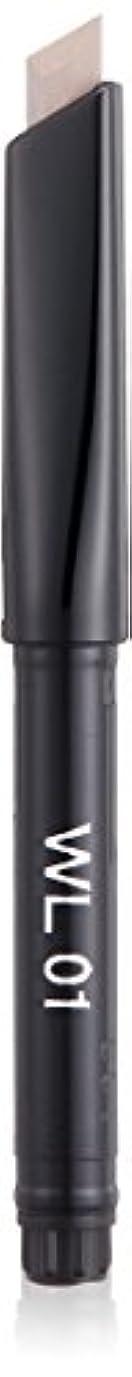 減衰ラショナル一節キッカ エンスローリング アイブロウペンシル W (リフィル) 01 ライトアッシュ&ダークアッシュ WL アイブロウ