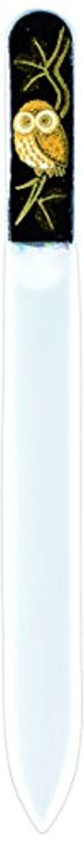 ストッキング社会キャベツ橋本漆芸 ブラジェク製高級爪ヤスリ ふくろう OPP