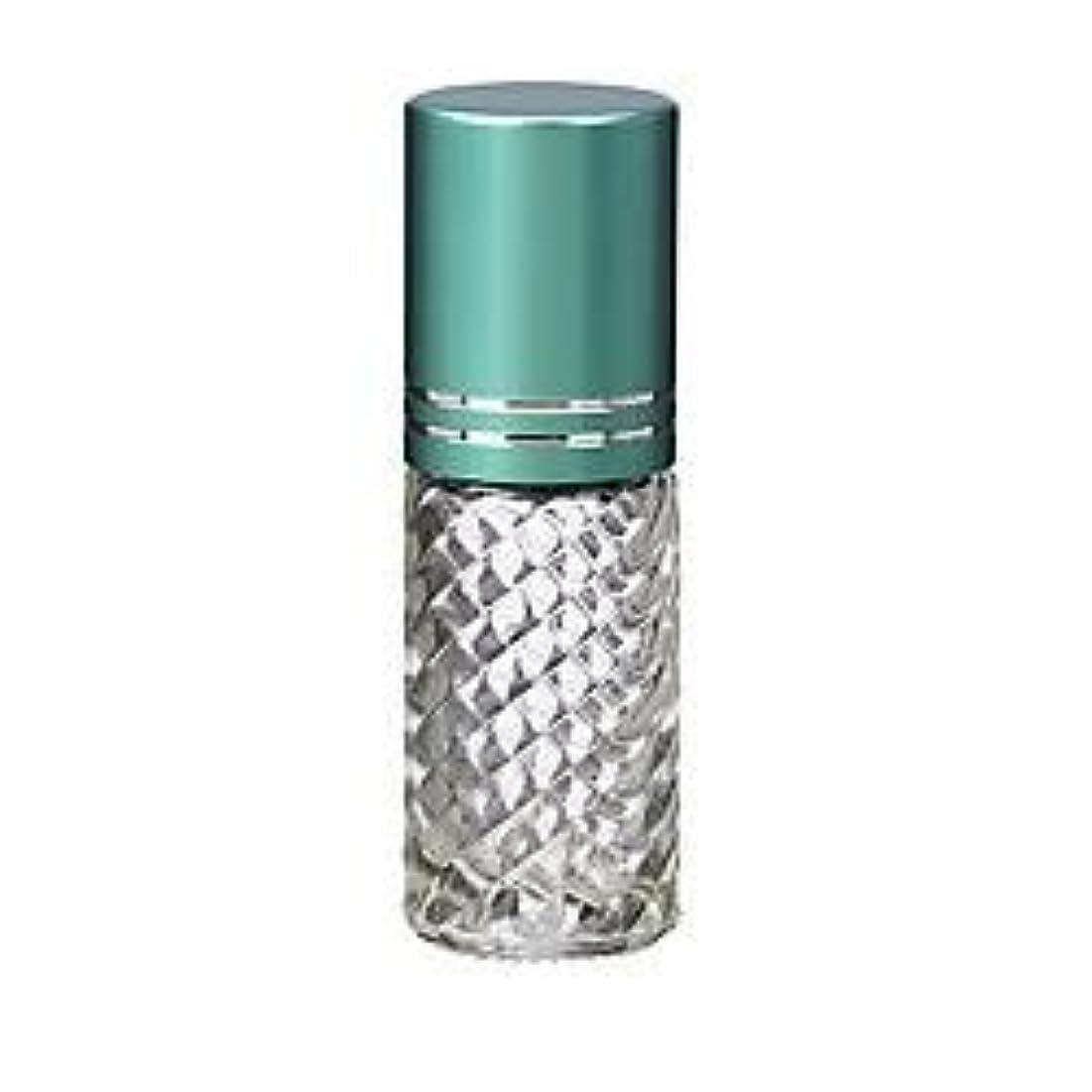 フリッパー祝う夫4 Bottles Fancy Large 30ml Roll On Empty Glass Bottles for Essential Oils Refillable 1 Oz Glass Roller Ball Roll-On...