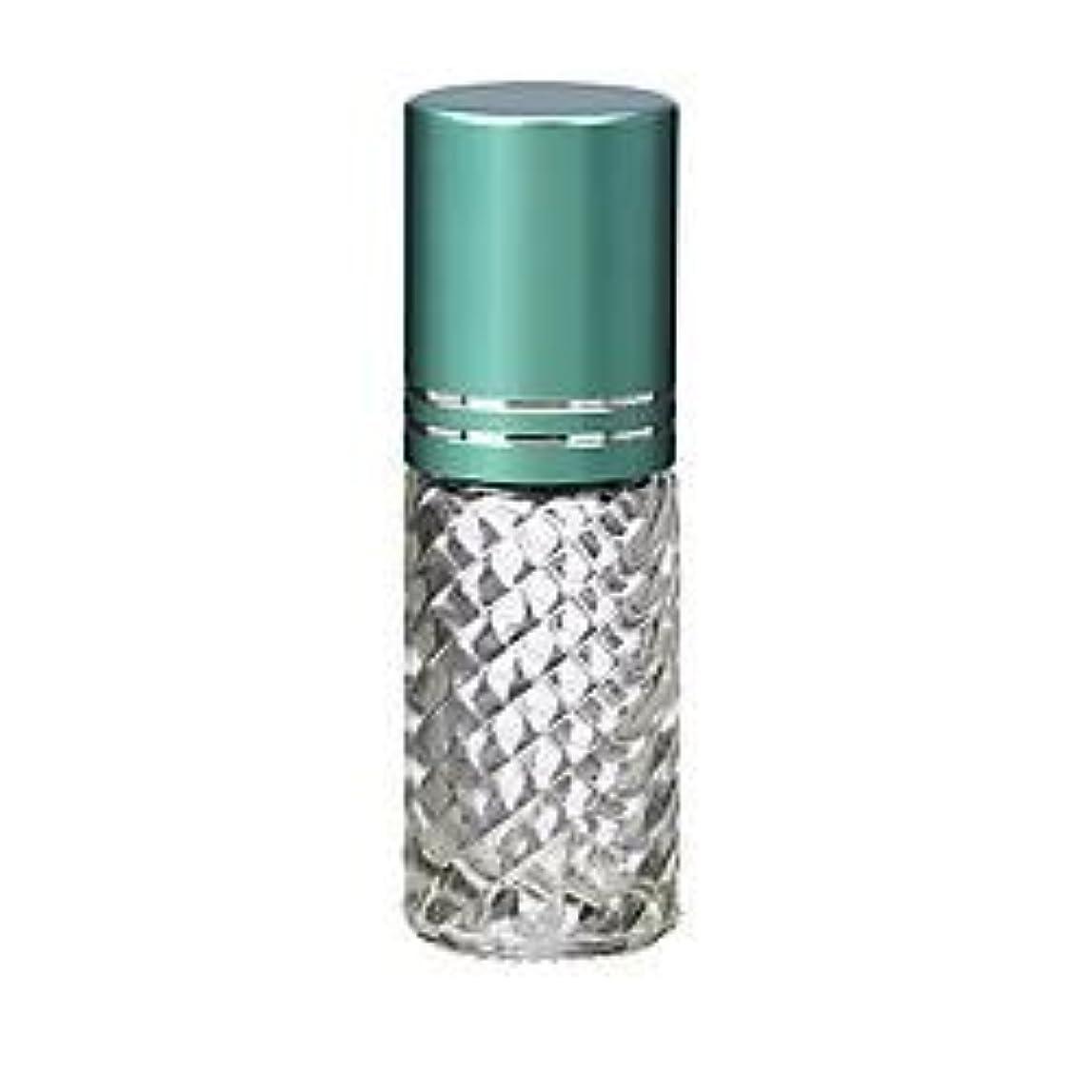 北会計昼寝4 Bottles Fancy Large 30ml Roll On Empty Glass Bottles for Essential Oils Refillable 1 Oz Glass Roller Ball Roll-On...