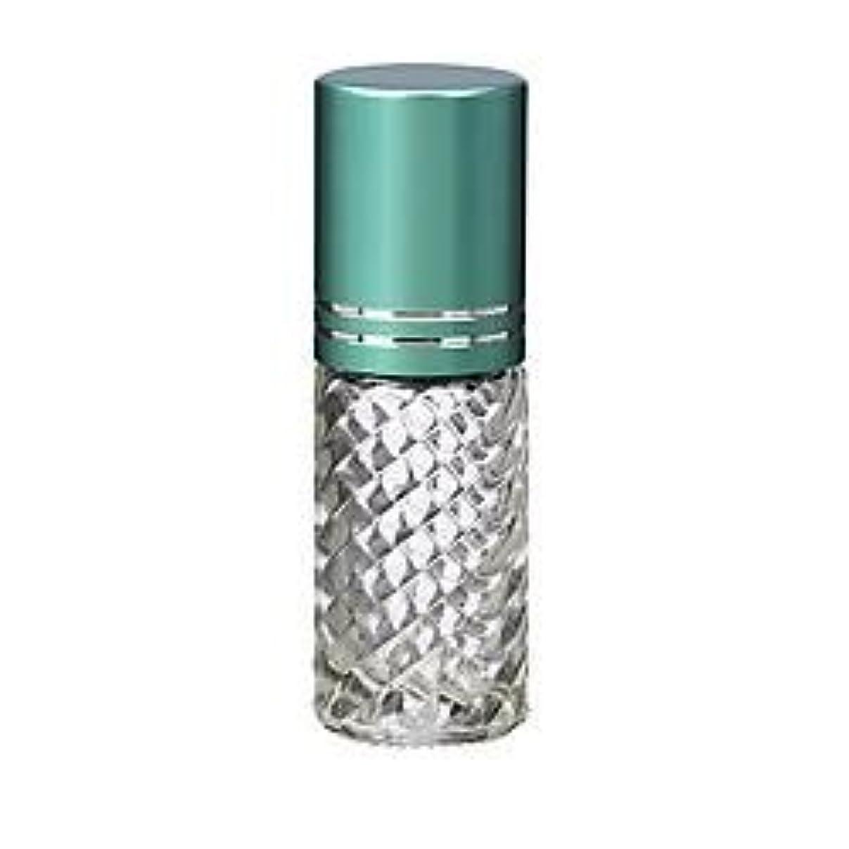 船尾要塞一月4 Bottles Fancy Large 30ml Roll On Empty Glass Bottles for Essential Oils Refillable 1 Oz Glass Roller Ball Roll-On...