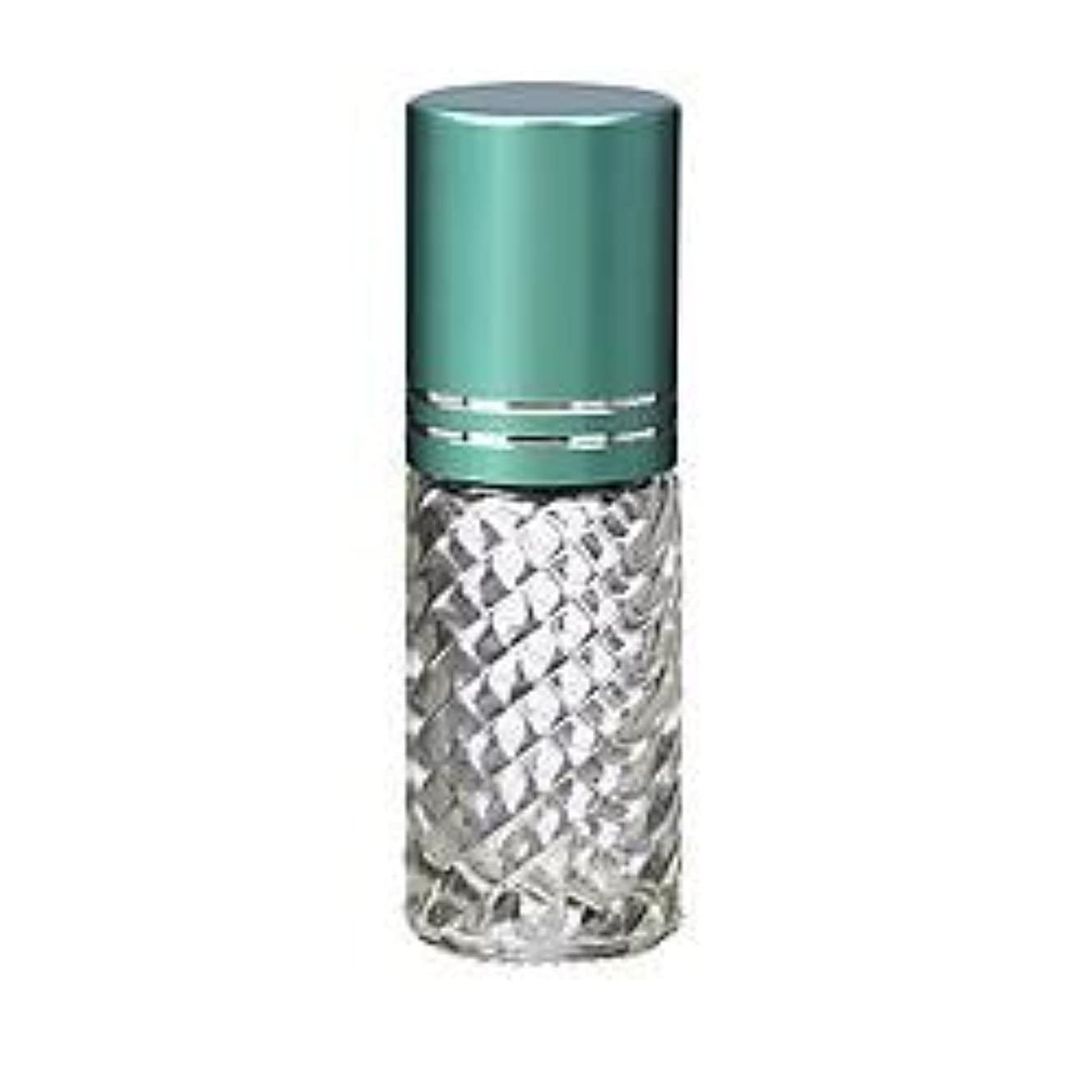 ネット代わりにを立てるブート4 Bottles Fancy Large 30ml Roll On Empty Glass Bottles for Essential Oils Refillable 1 Oz Glass Roller Ball Roll-On...