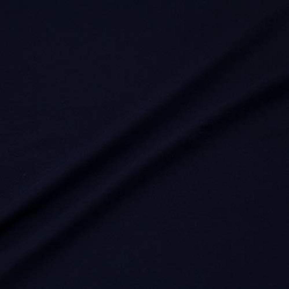 順番ハロウィン赤外線T/Cストレッチポンチ ニット 生地 レシピ付 約145cm幅×約1mカット 434 col.7 ネイビー (1mカット)