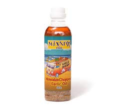 【MINATO Hawaii】 ハワイアンチョップドガーリックオイル 480g Hawaiian Chopped Garlic Oil