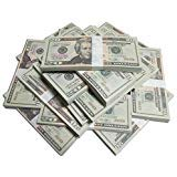 Xmon Joy Motion Picture Money $4000 小道具 マネー 映画 マネー 20ドル 200枚 フルプリント 両面 本物そっくり コピーマネー