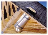 Velux Ztr0100004 4' Rigid Tunnel Extension For 10 Sun Tunnel, Alum, 9-1/4L X 25H X 9-1/4D by VELUX