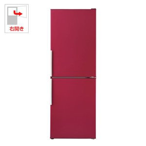 アクア 275L 2ドア冷蔵庫(ルージュ)【右開き】AQUA ...