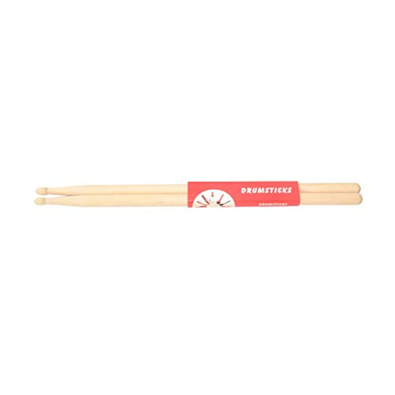 Yhuisen 高品質のドラムスティック5Aウッドチップドラムスティック、メープル、1ペア (Color : Natural)