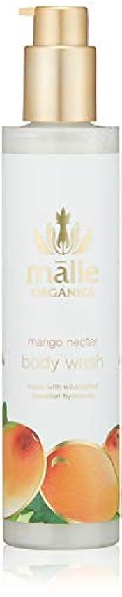 手錠部族散歩に行くMalie Organics(マリエオーガニクス) ボディウォッシュ マンゴーネクター 222ml