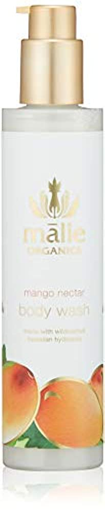畝間狂うシニスMalie Organics(マリエオーガニクス) ボディウォッシュ マンゴーネクター 222ml